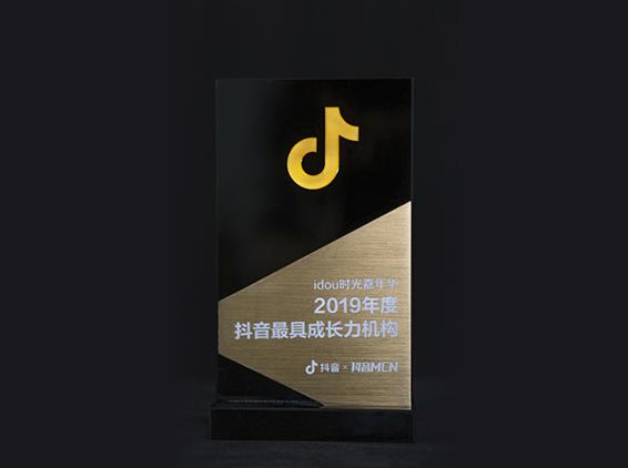2019年度抖音 最具成长力机构